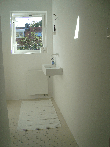 Wanden Badkamer: Badkamers voorbeelden ? badkamer kraan uit de muur.