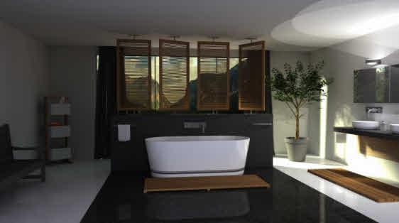 Gladde Wanden Badkamer : Betonlook badkamer is eenvoudig aan te brengen met de producten van