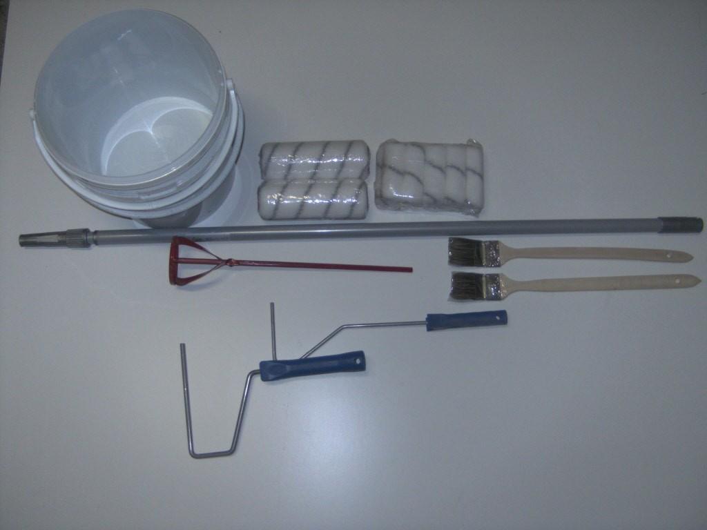 Start pakket vloer 2 componenten gereedschap kleine ruimten 50 - Vloer roller ...