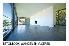 Gietvloer epoxy pu coating betonlook