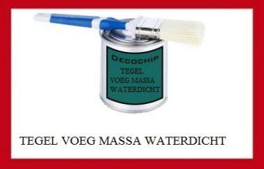 Tegel voeg massa waterdicht